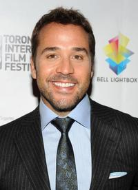 Jeremy Piven at the Canada premiere of