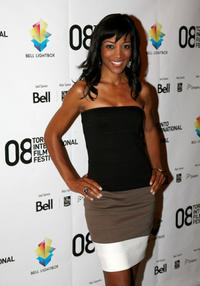Shawn Robinson at the Canada premiere of