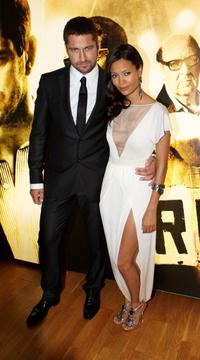 Gerard Butler and Thandie Newton at the UK premiere of