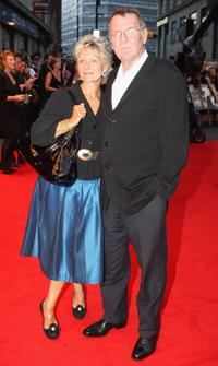 Tom Wilkinson and Guest at the UK premiere of