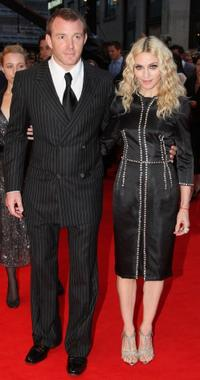 Director Guy Ritchie and his wife Madonna at the UK premiere of