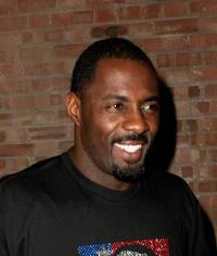 Idris Elba at the after party of the UK premiere of