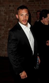Tom Hardy at the after party of the UK premiere of