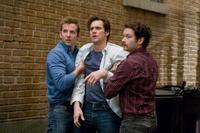 Bradley Cooper as Peter, Jim Carrey as Carl and Danny Masterson as Rooney in