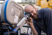 Director Peyton Reed on the set of