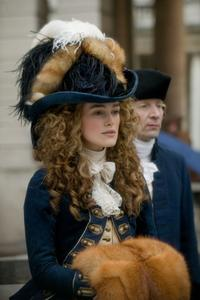 Keira Knightley as Georgiana, the Duchess of Devonshire in