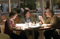 Sam Rockwell as James Reston, Jr., Oliver Platt as Bob Zelnick and Matthew Macfadyen as John Birt in