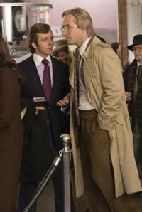 Michael Sheen as David Frost and Matthew Macfadyen as John Birt in
