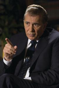 Frank Langella as Richard Nixon in