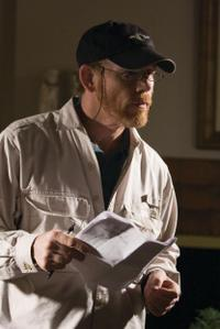 Director/Producer Ron Howard on the set of
