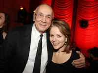Frank Langella and Renee Fleming at the after party of the New York premiere of