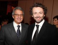 Ron Meyer and Michael Sheen at the after party of the New York premiere of