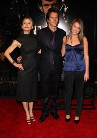Kyra Sedgwick, Kevin Bacon and Sosie Bacon at the New York premiere of