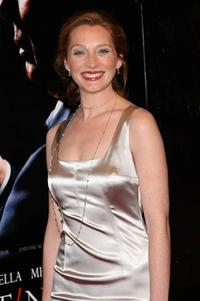 Kate Jennings Grant at the New York premiere of