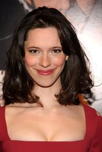 Rebecca Hall at the New York premiere of