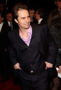 Sam Rockwell at the New York premiere of