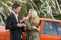 Topher Grace and Teresa Palmer in