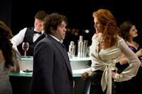 Dan Fogler and Angie Everhart in