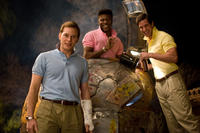 Chris Pratt, Bruce Nelson and Garret Allen in