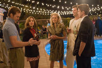 Chris Pratt, Anna Faris, Teresa Palmer, Ryan Bittle and Topher Grace in