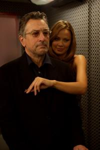 Robert De Niro and Moon Bloodgood in