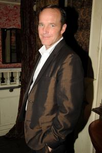 Director Clark Gregg at the after party of the New York Screening of