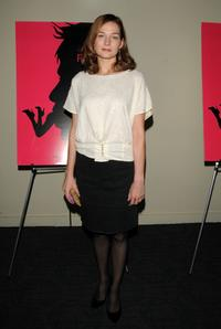 Heather Burns at the New York Screening of