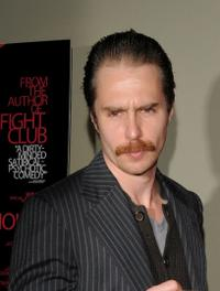 Sam Rockwell at the New York Screening of
