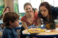 Amy Adams, Emily Blunt and Jason Spevack in