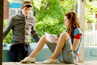 Eddie Redmayne and Kristen Stewart in