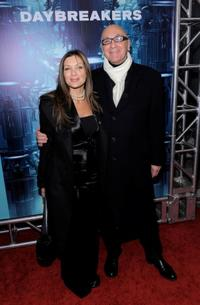 Diana Brown and Chris Brown at the New York premiere of