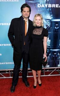 Tod Williams and Gretchen Mol at the New York premiere of