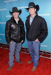 Kody Lostroh and J.B. Mauney at the New York premiere of