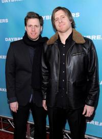 Peter Spierig and Michael Spierig at the New York premiere of