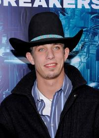 J.B. Mauney at the New York premiere of