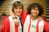 Zac Efron and Corbin Bleu in
