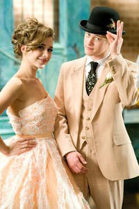 Olesya Rulin and Lucas Grabeel in