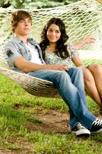 Zac Efron and Vanessa Hudgens in