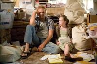 Kevin Costner and Madeline Carroll in