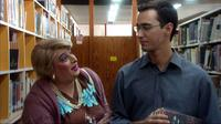 Miss Laila Curry as Soshana and Tomer Ilan as Omer in