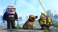 Carl Fredricksen, Dug and Russell in