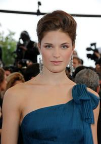 Alessia Piovan at the France premiere of