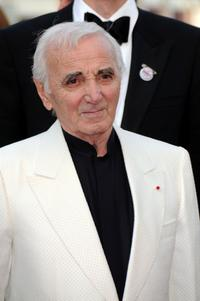 Charles Aznavour at the France premiere of