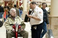 Bernie McInerney as Old Man and Kevin James as Paul Blart in