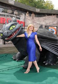 Cressida Cowell at the California premiere of
