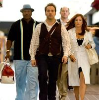 Ving Rhames as Jibby Newsome, David Koechner as Brent Gage, Kathryn Hahn as Babs Merrick and Jeremy Piven as Don Ready in