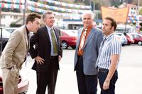 Ed Helms as Paxton Harding, Alan Thicke as Stu Harding, James Brolin as Ben Selleck and Jeremy Piven as Don Ready in