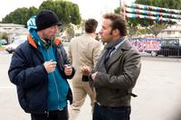 Director Neal Brennan and Jeremy Piven in