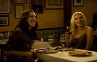 Rebecca Hall and Scarlett Johansson in