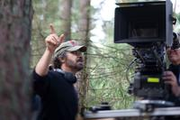 Director Edward Zwick on the set of